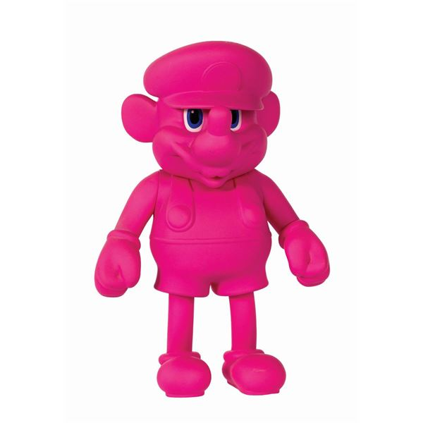 Mickey Mouse x Mario Akashi Pink Vinyl Figure.