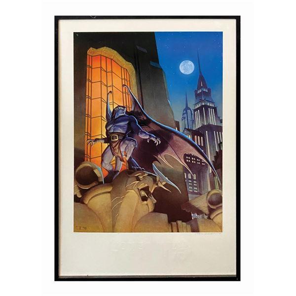 Disney's Gargoyles Limited Edition Lithographic Print.