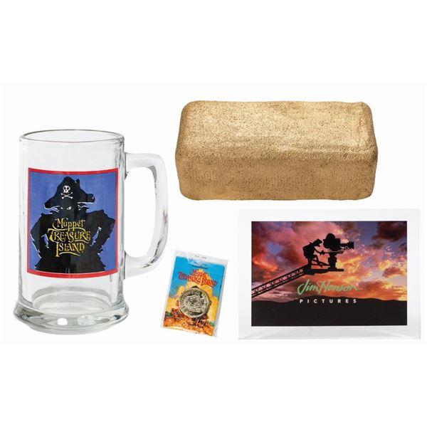 Set of Muppets Treasure Island Memorabilia.