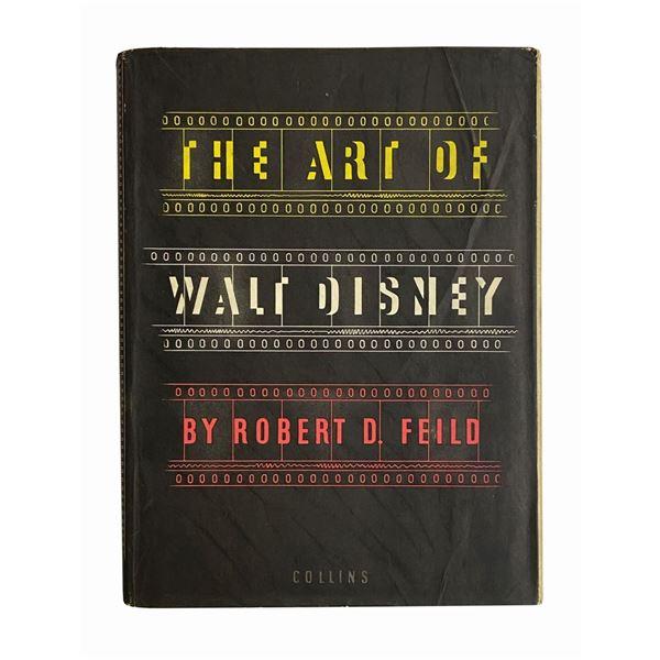 """The Art of Walt Disney"" Hardcover Book."