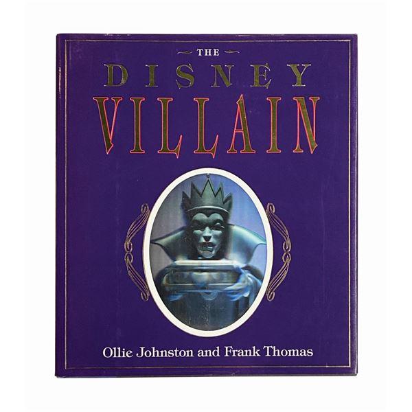 """The Disney Villain"" Signed Book."
