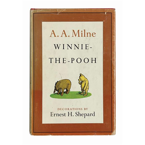 Christopher Robin Milne Signed Winnie-the-Pooh Book.