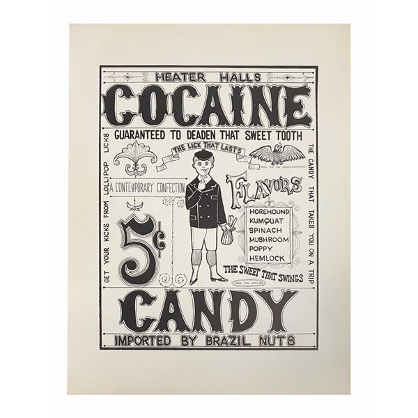 "Rolly Crump Cocaine ""Doper Poster."""