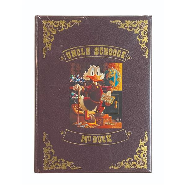 """""""Uncle Scrooge McDuck"""" Carl Barks Book."""