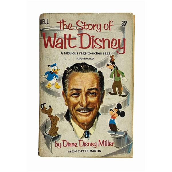 """""""The Story of Walt Disney"""" Signed by Diane & Lillian."""