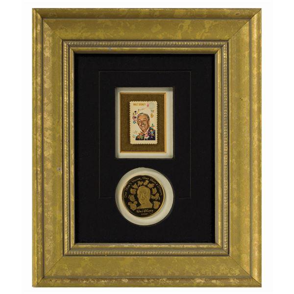Walt Disney Limited Edition Stamp & Medallion.