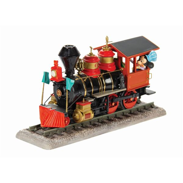Mickey Mouse I Have Always Loved Trains WDCC Figurine.