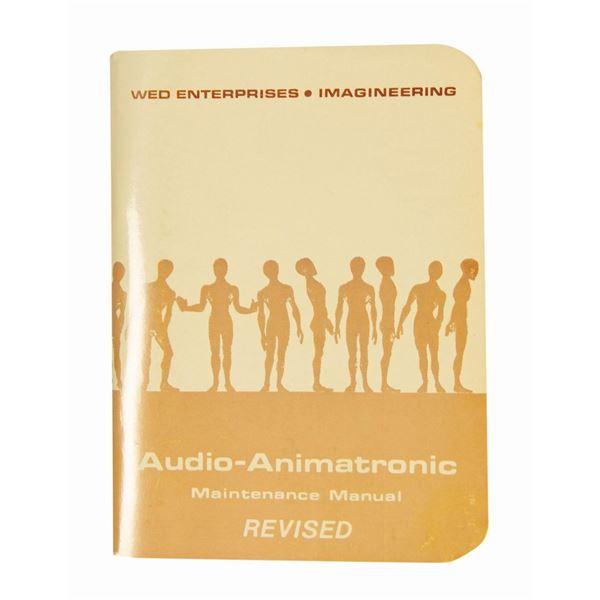 Audio-Animatronic Maintenance Manual.