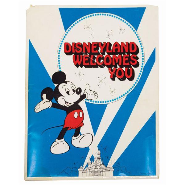 Disneyland New Hire Orientation Folder.