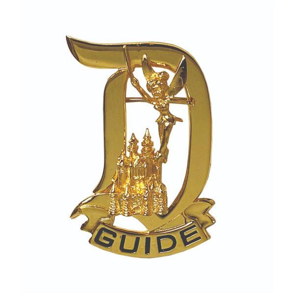 Disneyland Tour Guide Pin.