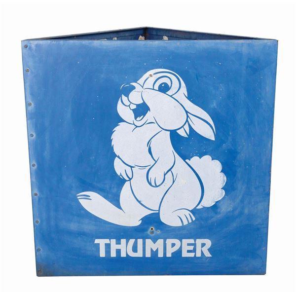 Thumper Disneyland Parking Lot Sign.