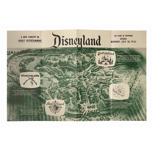 Your First Visit to Disneyland Pre-Opening Brochure.