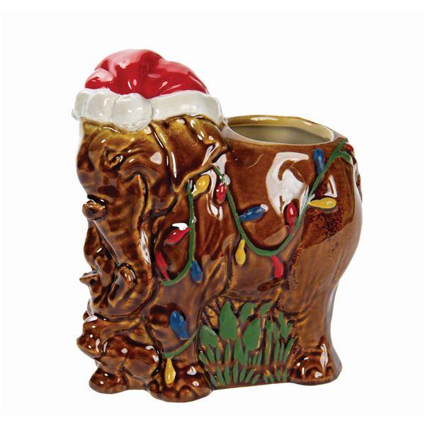 Trader Sam's Grog Grotto Jingle Cruise Tiki Mug.