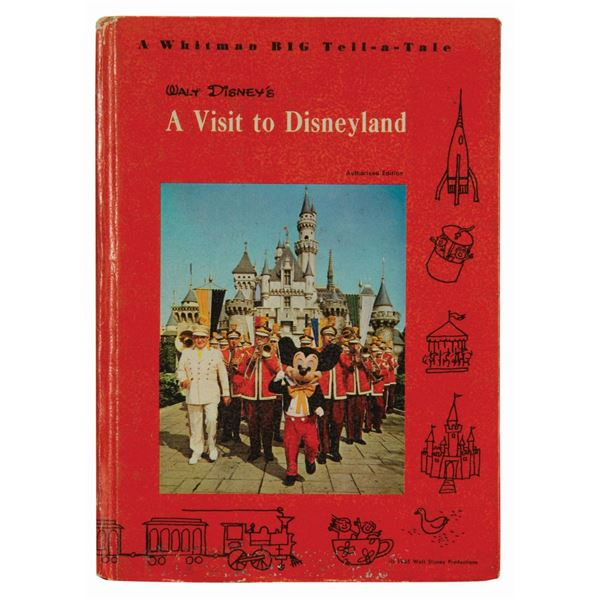 A Visit to Disneyland Whitman Tell-a-Tale Book.