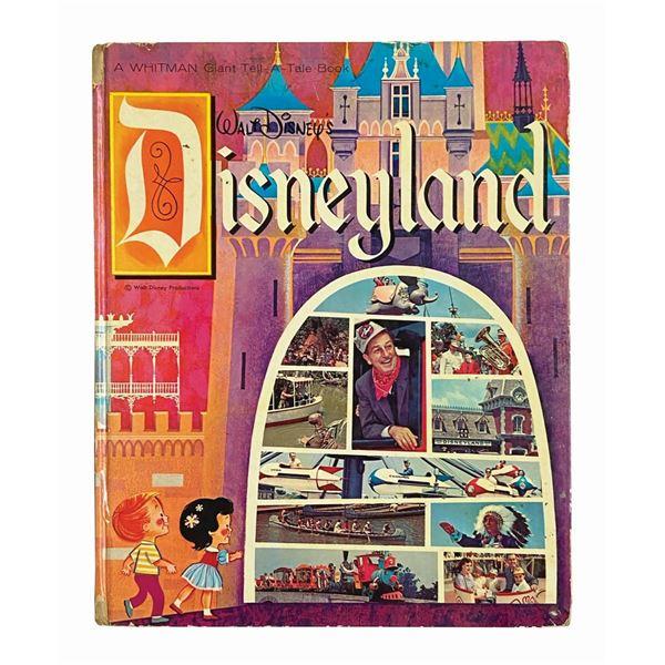 """Walt Disney's Disneyland"" Whitman Tell-A-Tale Book."