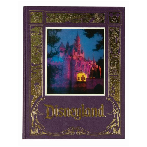 Disneyland: The First Thirty Years Hardcover Book.