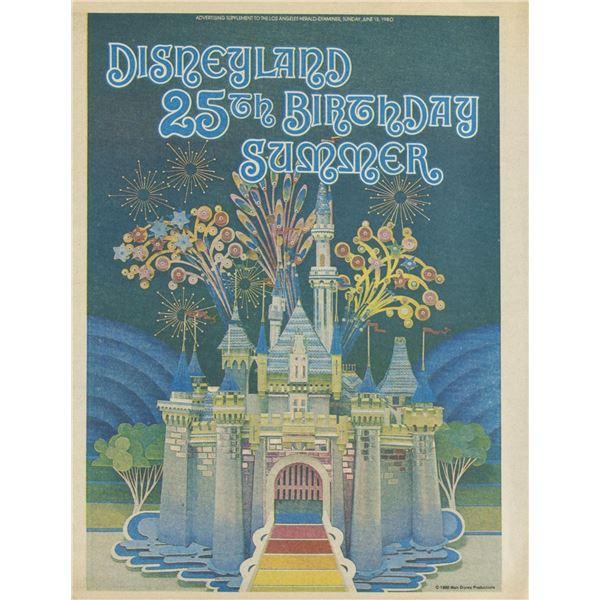 Los Angeles Examiner Disneyland 25th Anniversary Issue.