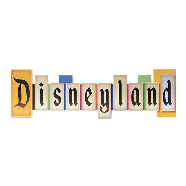 Disneyland Marquee Sign.