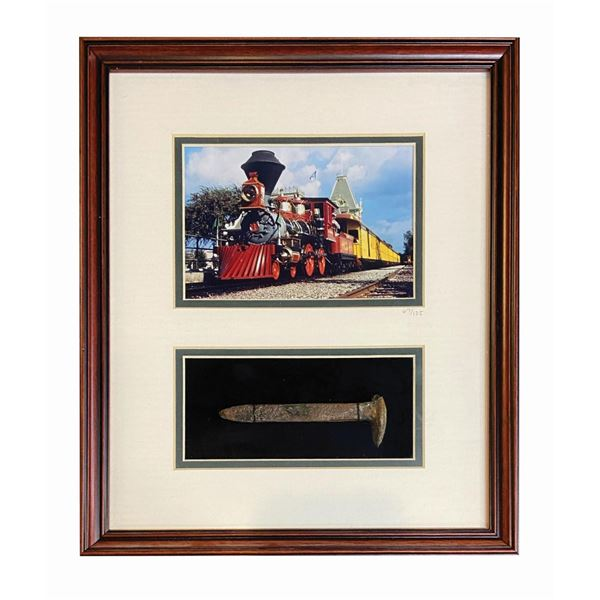 Disneyland Railroad Engine No. 1 Railroad Spike.