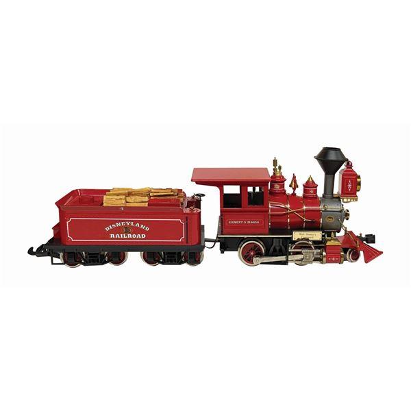 Hartland Disneyland Railroad Engine No. 4 and Tender.