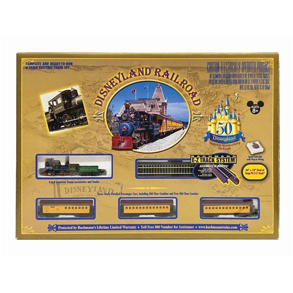 Disneyland Railroad 50th Anniversary Train Set.
