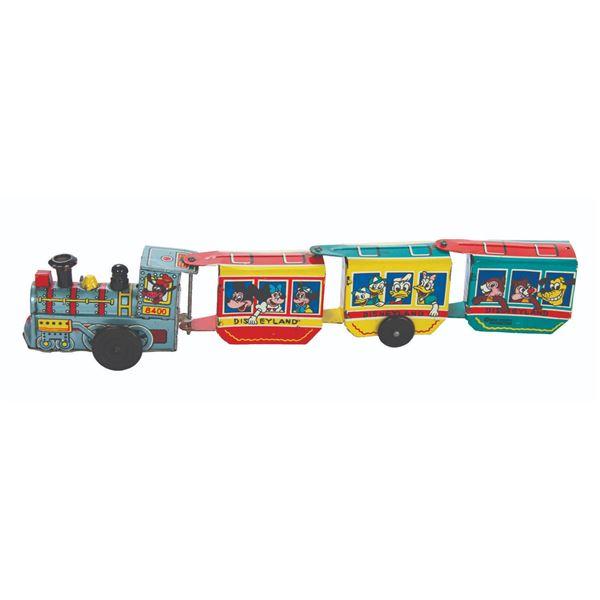 Disney Express Wind-Up Train Tin Toy.