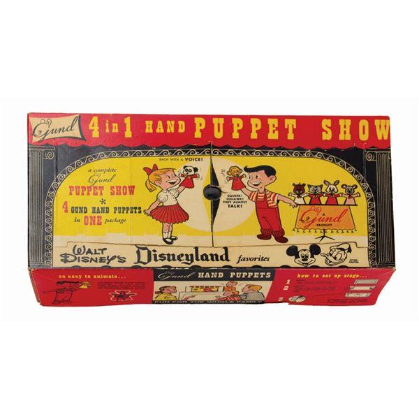 Gund Disneyland Favorites 4-in-1 Hand Puppet Show.