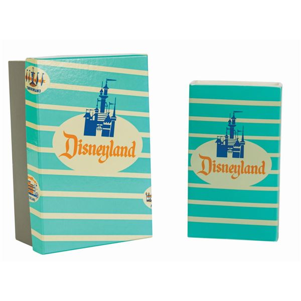 Ceramic Disneyland Popcorn Box Limited Edition Replica.