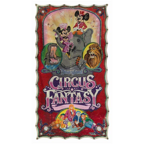 Circus Fantasy Parade Banner.