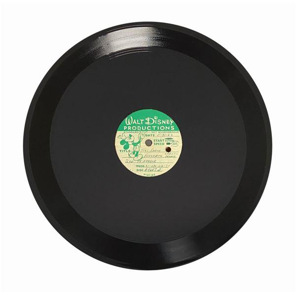 Enchanted Tiki Room Acetate Master Recording.