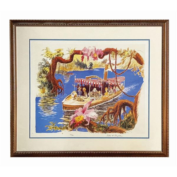 Collin Campbell Signed Jungle Cruise Print.