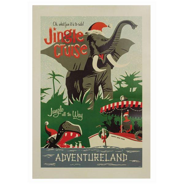 Jingle Cruise Souvenir Attraction Poster.