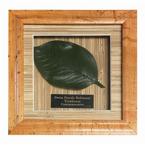 Swiss Family Treehouse Leaf Prop.
