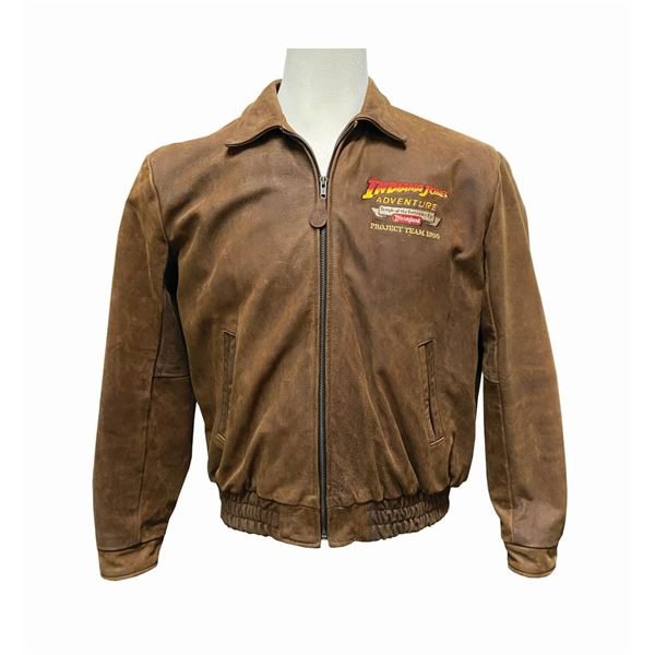 Indiana Jones Adventure Imagineer Leather Jacket.