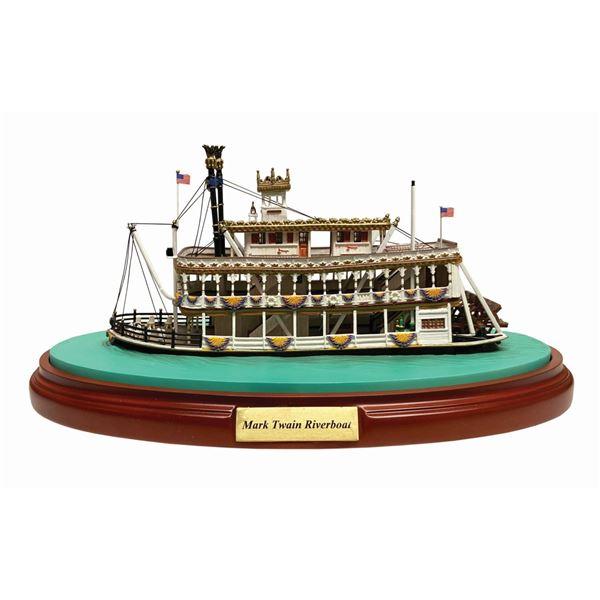 Mark Twain Riverboat Model by Olszewski.