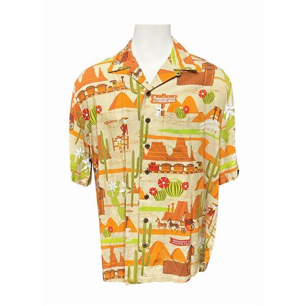 Shag Disneyland 50th Anniversary Frontierland Shirt.