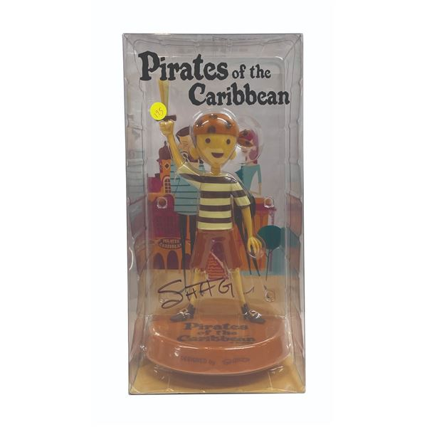 Shag Pirate Boy Monochrome Variant Figure.