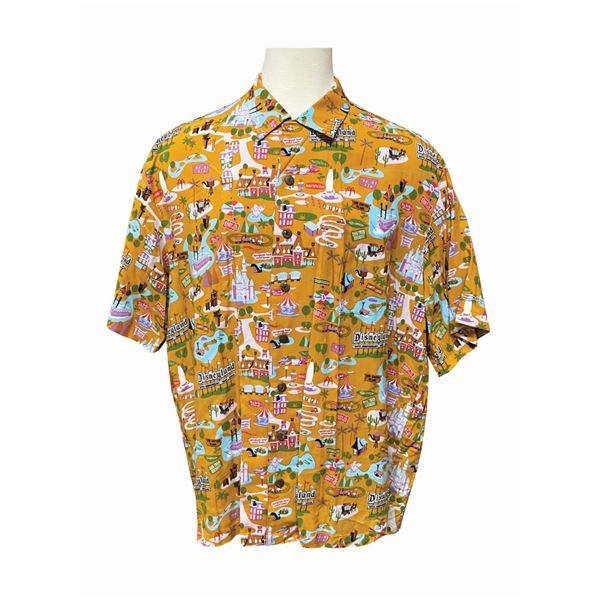 Shag Disneyland 50th Anniversary Attractions Shirt.
