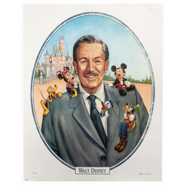 Walt Disney 100th Anniversary Lithograph.