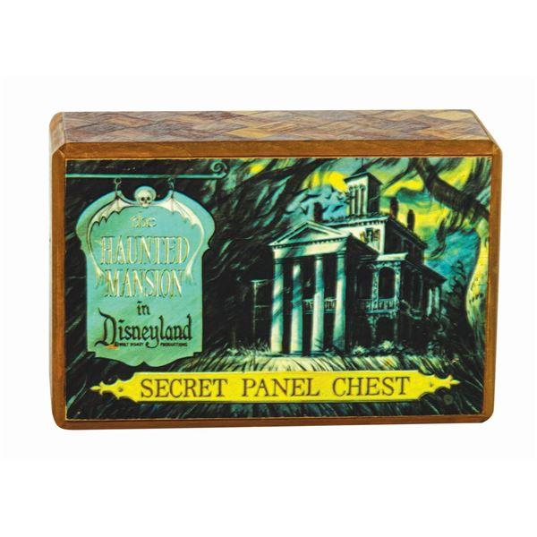 Haunted Mansion Secret Panel Chest.