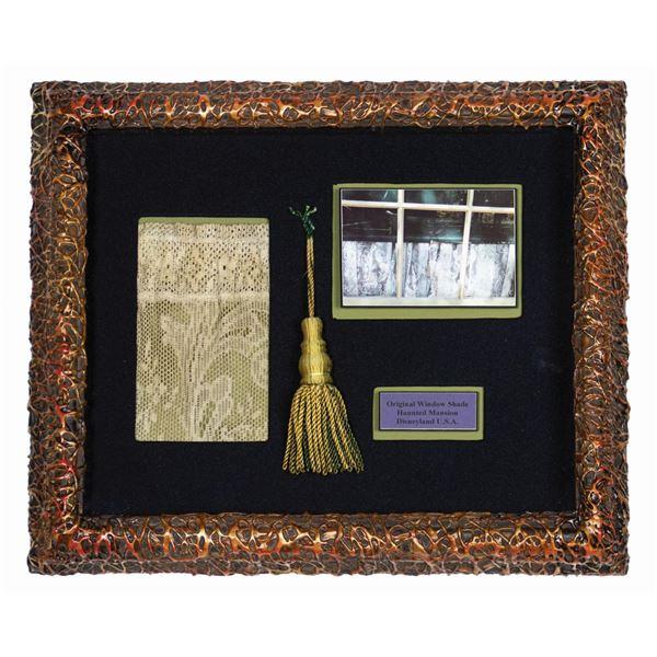 Haunted Mansion Window Shade & Tassel Prop.
