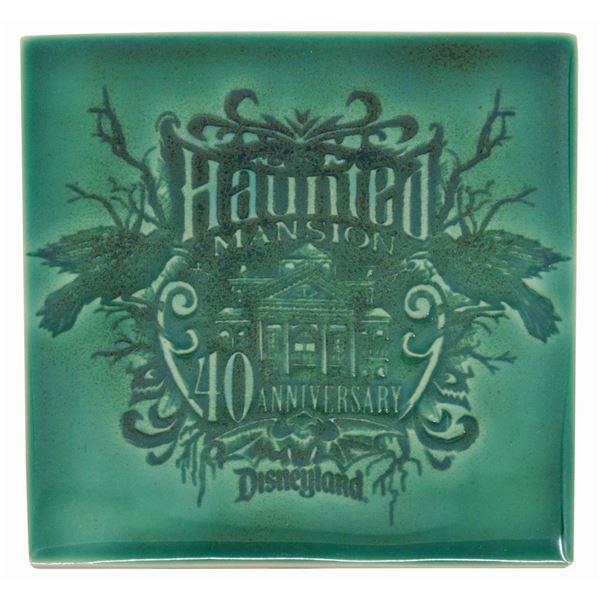 Haunted Mansion 40th Anniversary Event Ceramic Tile.