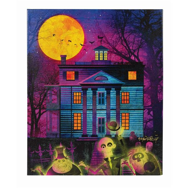 Hitchhiking Ghosts Signed Art Print.