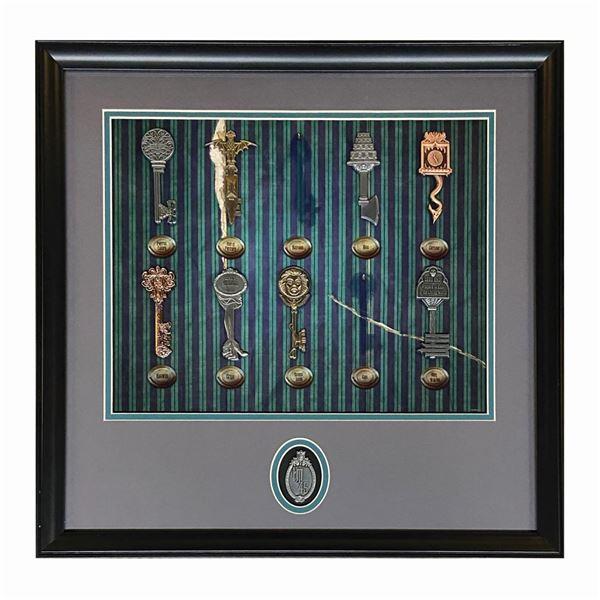 Haunted Mansion Skeleton Key Pin Set.