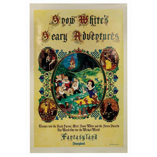 Snow White's Scary Adventures Poster.