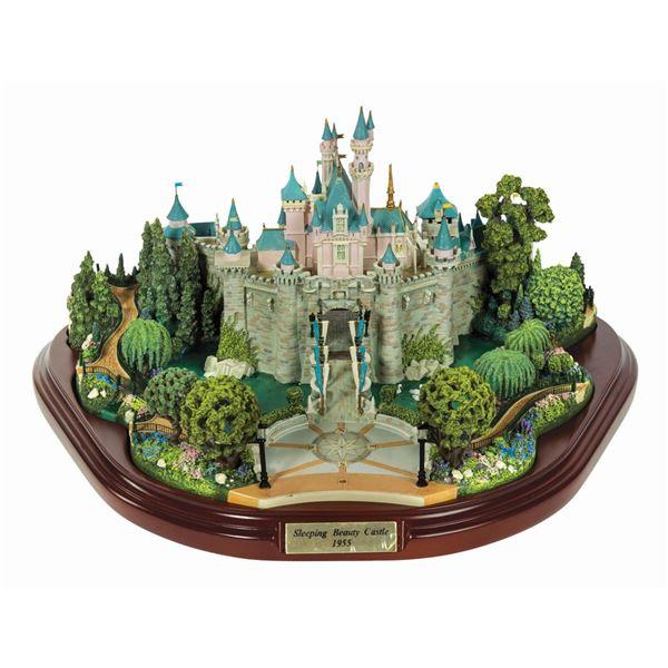 Sleeping Beauty Castle Model by Olszewski.