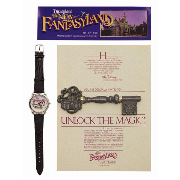 New Fantasyland Cast Premiere Key, Passport, and Watch.