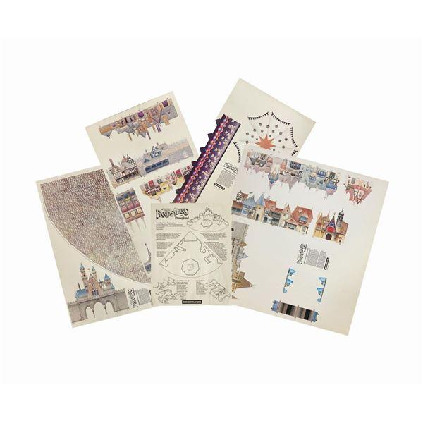 New Fantasyland Paper Diorama Kit.