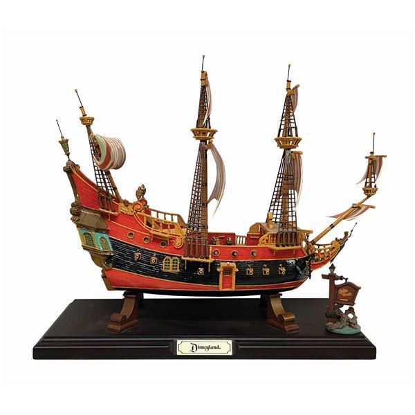 Fantasyland Pirate Ship Restaurant Model.