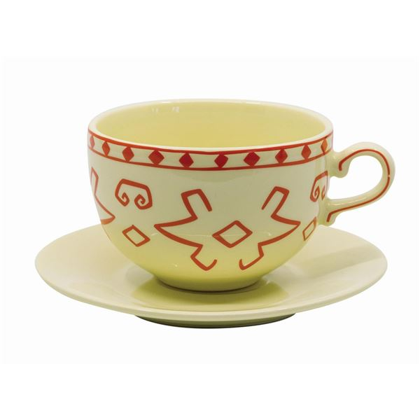 The Mad Tea Party Limited Edition Teacup and Saucer.